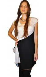 Bluza Black and white