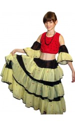 Costum Flamenco model 1